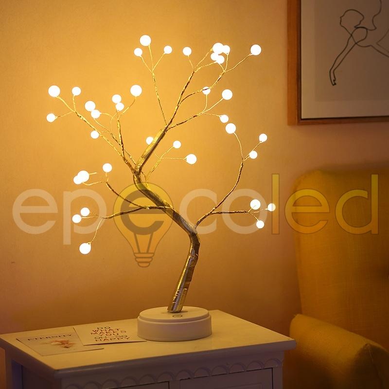 Светильник-бонсай EPECOLED (USB/батарейки, 36LED)