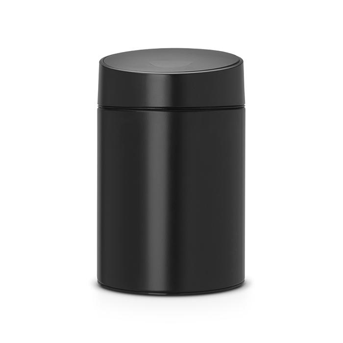 Мусорный бак Slide Bin (5 л), Черный, арт. 483189 - фото 1