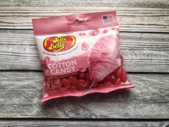 Jelly Belly Cotton Candy Джелли Белли со вкусом сахарной ваты 70 гр