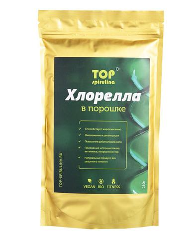 Хлорелла 100% organic в порошке, пакет 250 г