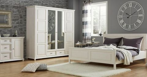 Спальня белая Елена