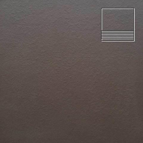 Ceramika Paradyz - Natural Brown Duro, 300x300x11, артикул 19 - Ступень простая структурная
