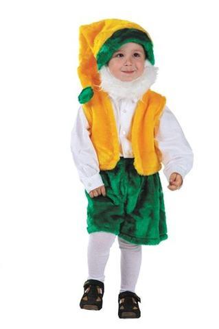 Детский карнавальный костюм Гном с бородой