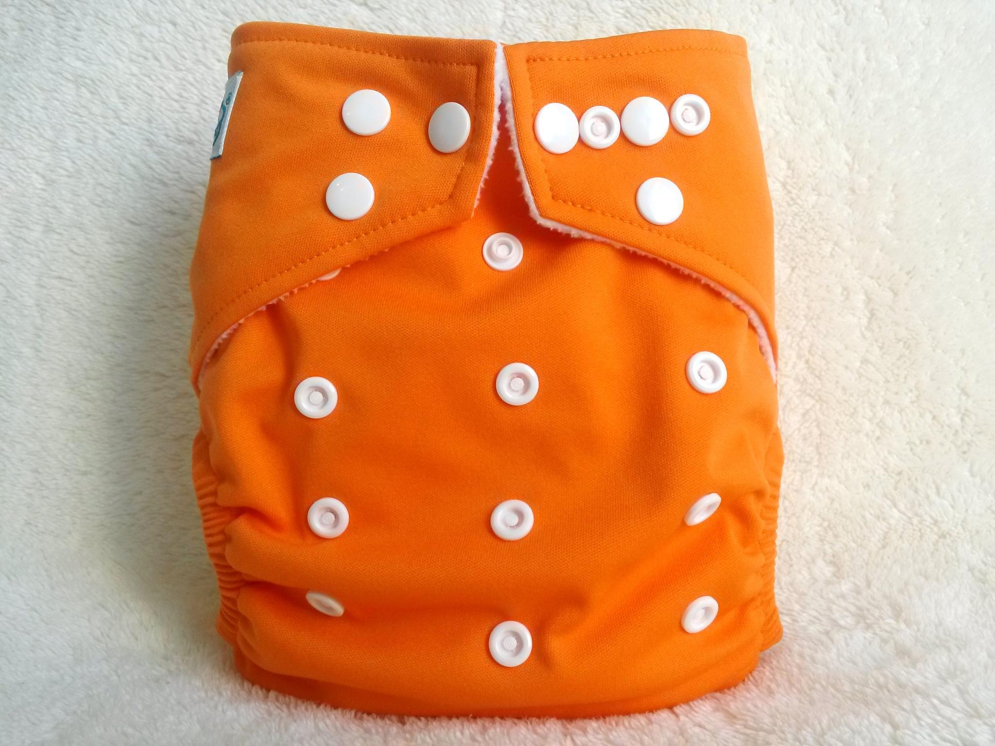 Подгузники Silken утепленные оранжевые