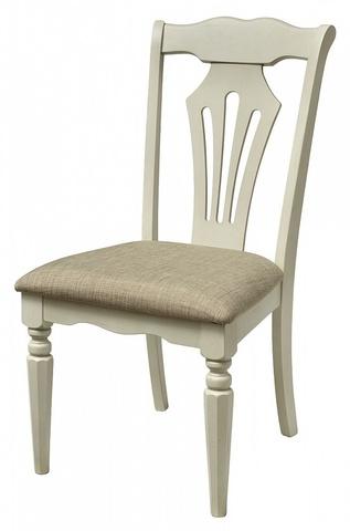 Стул LT C15380 BUTTERMILK #WW21/ FB51 М-City (обеденный, кухонный, для гостиной), Материал каркаса: Массив гевеи, Цвет каркаса: Дуб молочный, Материал сиденья: Ткань, Цвет сиденья: Бежевый, Цвет: Белый, Материал каркаса: Дерево