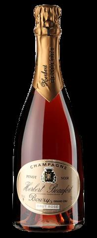 Champagne Herbert Beaufort Bouzy Grand Cru Brut Rose