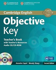 Objective Key (Second Edition) Teacher's Book with Teacher's Resources Audio CD/CD-ROM