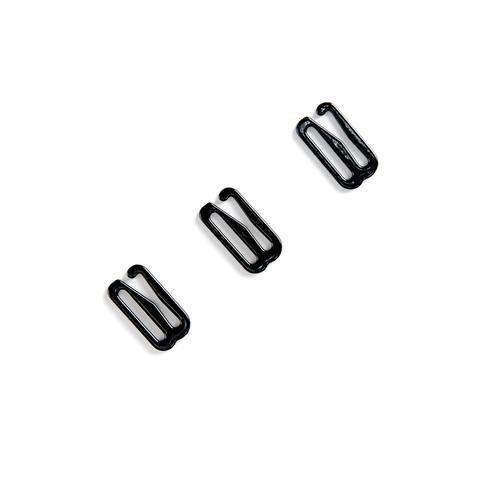 Крючок для бретели черный 15 мм