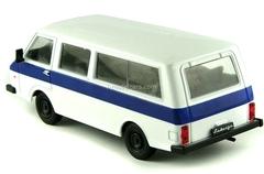 RAF-22038 Latvia white-blue 1:43 DeAgostini Auto Legends USSR #74