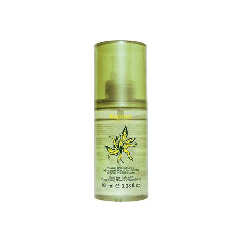 Флюид для волос с эфирным маслом цветка дерева Иланг - Иланг Kapous Professional 100 мл