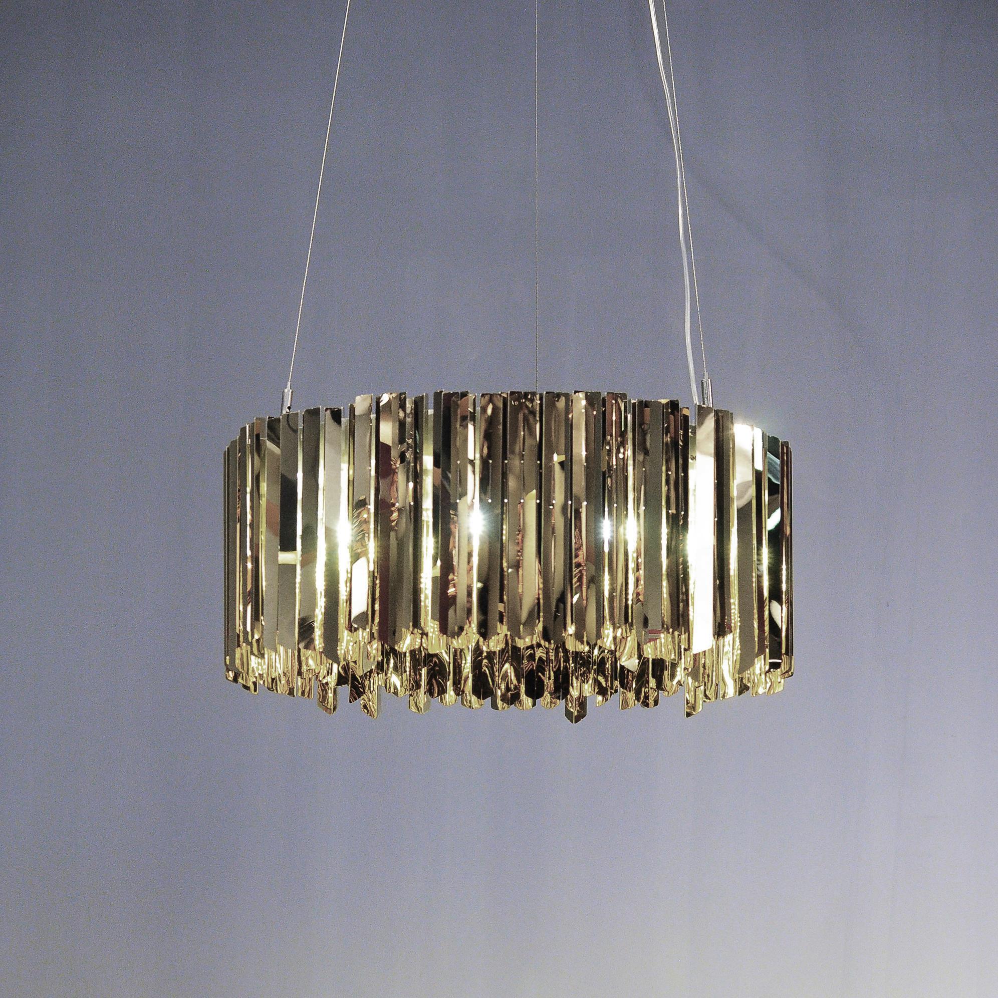 Подвесной светильник копия Tom Kirk Facet by Innermost D100 (серебряный)