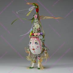 Ёлочная игрушка Клоун-яйцо Лето