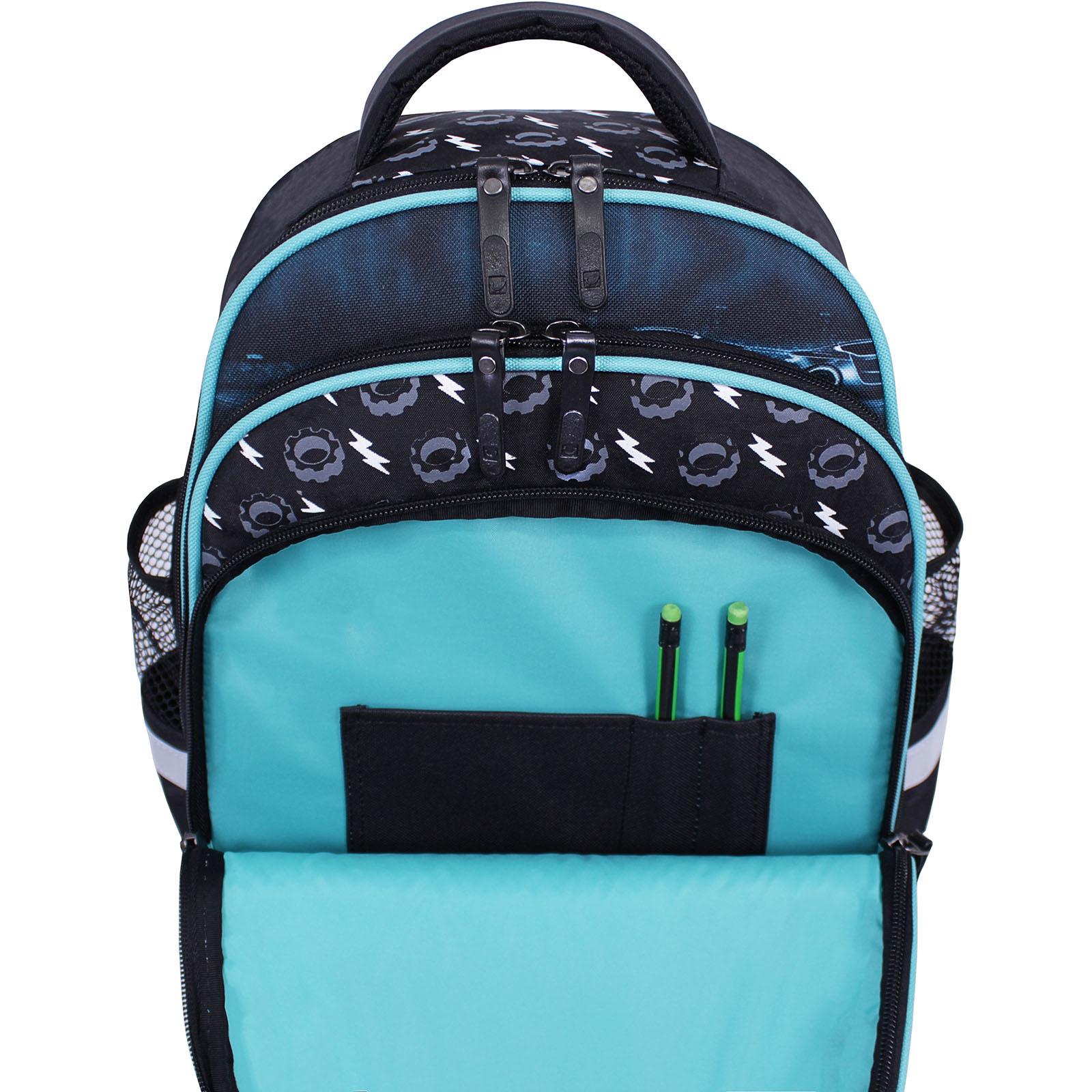 Рюкзак школьный Bagland Mouse черный 558 (0051370) фото 5