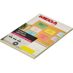 Бумага цветная для офисной техники Promega jet Intensive микс (А4, 80 г/кв.м, 5 цветов по 20 листов)