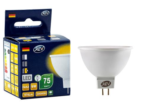 Лампа сд MR16 GU5.3 9W,3000K,теплый свет