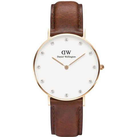 Купить Женские часы Daniel Wellington Classy 34 мм DW00100075 по доступной цене
