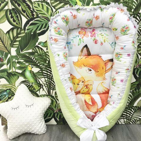 Гнездышки коконы для новорожденного