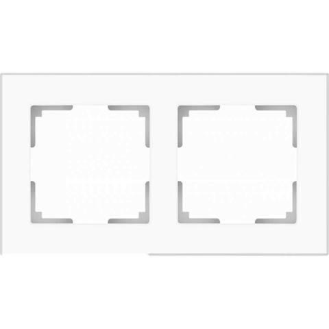 Werkel Рамка WL01-Frame-02 белое матовое стекло