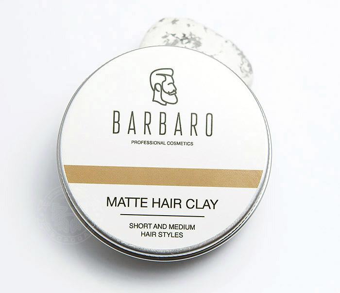 RAZ1021 Матовая глина «Barbaro» для укладки волос с сильной фиксацией (60 гр) фото 02