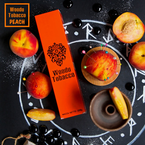Табак Woodu Персик 250 г