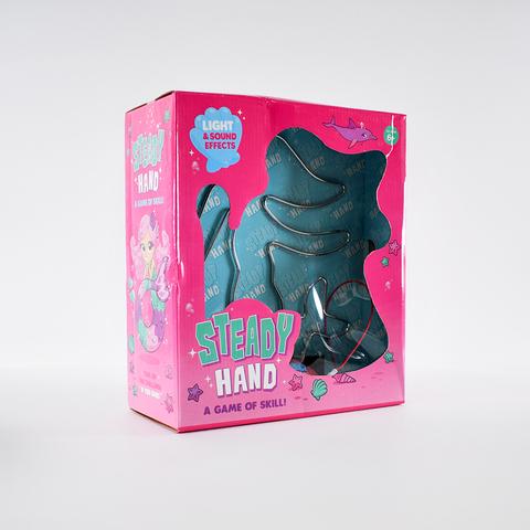 Настольная игра - Головоломка твердая рука в роз. кор.