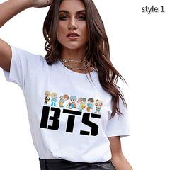 BTS Cute Koop T Shirt White - BTS köynək 1
