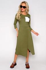 <p>Это креативное платье зацепит Вас своей индивидуальностью! В нём всё уникально и просто!</p> <p>Длины:( 46-48р-115см,50-52р-116см).</p>