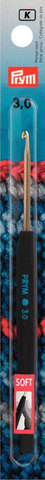 Prym Крючок №3 с пластиковой мягкой ручкой soft