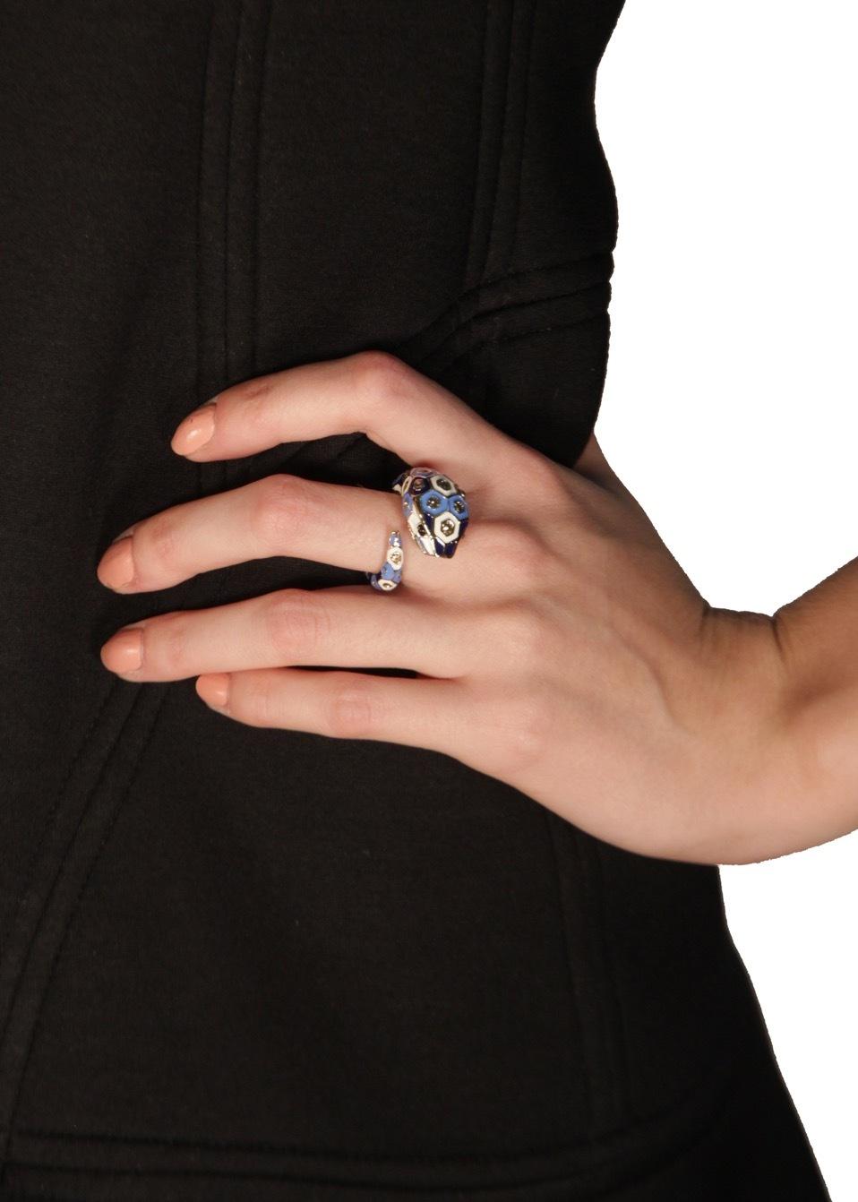 Кольцо-змея ROBERTO CAVALLI