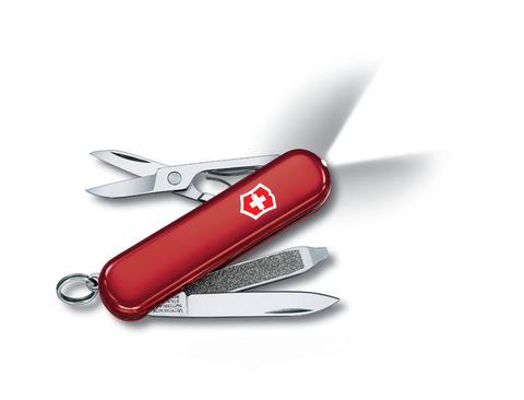 Нож-брелок VICTORINOX Swiss Lite 58 мм 7 функций красный VC6228