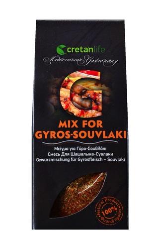 Греческая приправа для гирос и сувлаки CretanLife 50 гр за 169 рублей