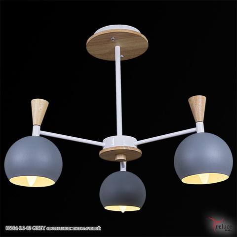 02204-0.3-03 GREY светильник потолочный