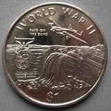 K8731, 1997, Либерия, 1 доллар Вторая мировая война