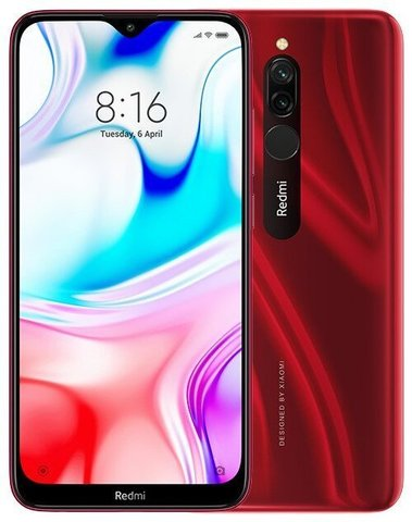 Смартфон Xiaomi Redmi 8  3/32Gb Red EU (Global Version)