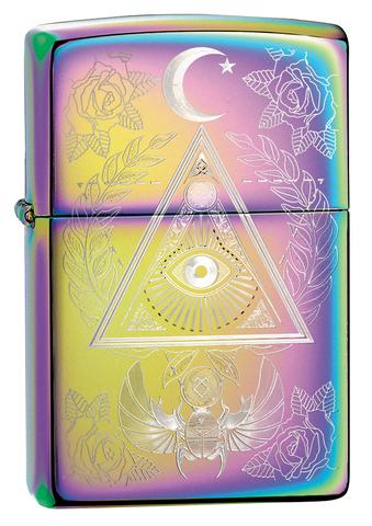 Зажигалка Multi Color Eye of Providence Design ZIPPO 49061