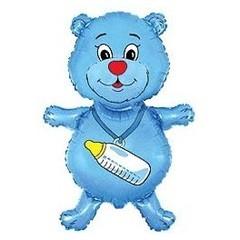 F Медвежонок мальчик (синий), 32