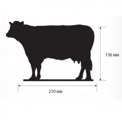 Меловой ценник BB COW - фигура