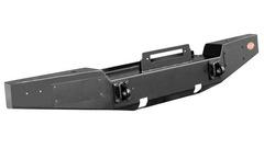 Передний силовой бампер OJ без дуг, кронштейны под ПТФ.