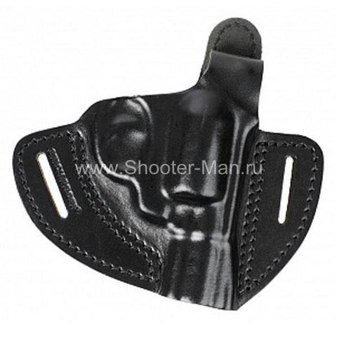Кобура поясная для револьвера Taurus LOM-13 ( модель № 2 ) Стич Профи