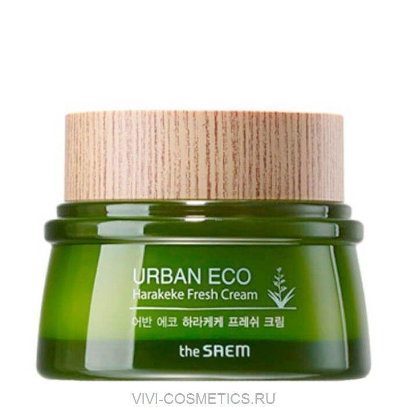 Крем для лица увлажняющий | THE SAEM URBAN ECO HARAKEKE CREAM (60ml)