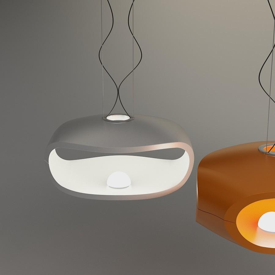 Подвесной светильник копия O-Space by Foscarini (оранжевый)