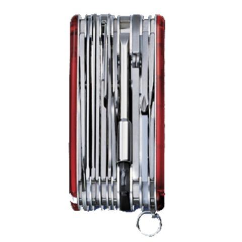 Нож Victorinox SwissChamp XLT, 91 мм, 49 функций, полупрозрачный красный