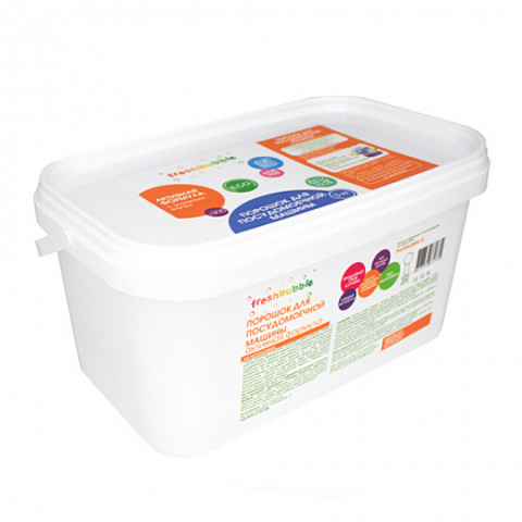 Freshbubble порошок для посудомоечной машины, 3 кг