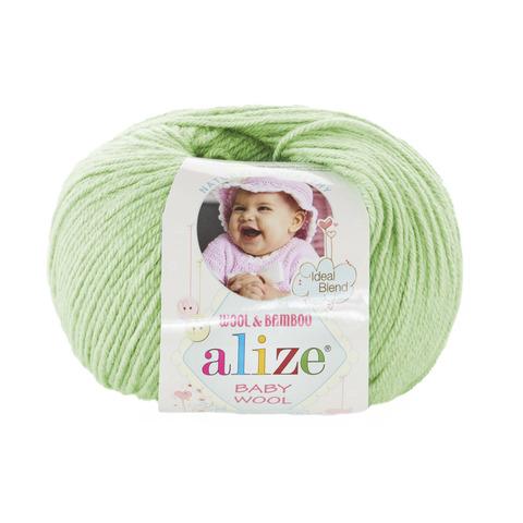 Пряжа Alize Baby Wool мята 41