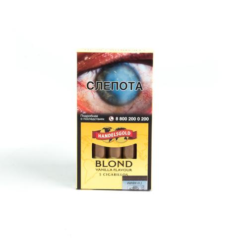 Сигариллы Handelsgold Vanilla Cigarillos 5 шт