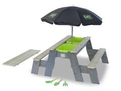 Песочница-трансформер Exit Toys с зонтом Aksent