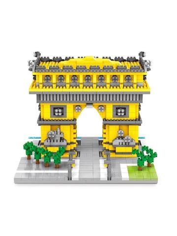 Конструктор Wisehawk & LNO Триумфальная арка Италия 1398 деталей NO. 2457 Arc de Triomphe Gift Series