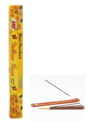 Buxur \ Ароматические палочки  \ İncense Yellow rose  20 pcs