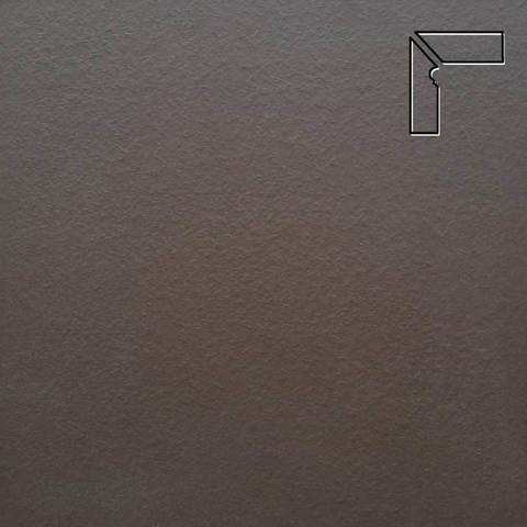 Ceramika Paradyz - Natural Brown Duro, 300x81x11, артикул 19 - Цоколь левый структурный 2-х элементный