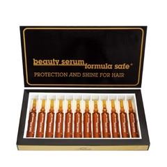 Ампулы BEAUTY SERUM FORMULA SAFE для защиты и блеска волос